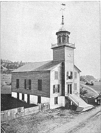 Mission Church (Michigan) - Image: Old Mission Church 1895