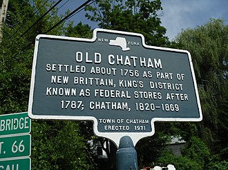 Old Chatham, New York - Old Chatham Sign.