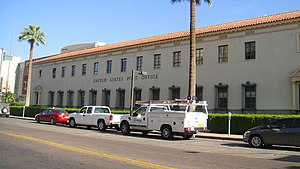 United States Post Office (Phoenix, Arizona) - The US Post Office building in downtown Phoenix