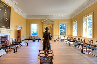 George Washington's resignation as commander-in-chief - Image: Old Senate Chamber, Maryland State House