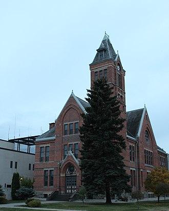 Stutsman County, North Dakota - Image: Old Stutsman County Courthouse