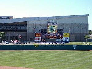 Pat Olsen - Scoreboard at Olsen Field (2006)