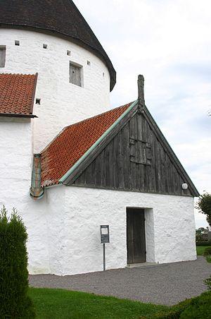 Sankt Ols Kirke - Image: Olsker Kirke 4
