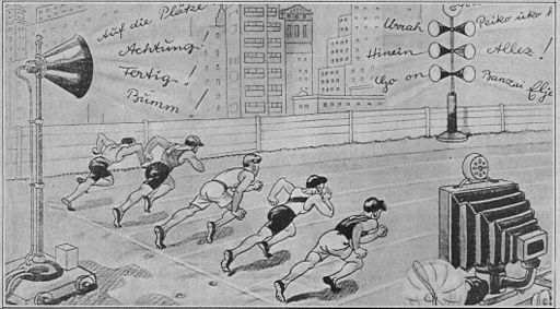 Olympic Final 2000 (1936 cartoon)
