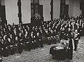 Ondertekening van het Statuut van het Koninkrijk door koningin Juliana in de Rid, Bestanddeelnr 015-0005.jpg