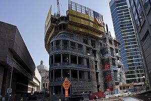 Four Seasons Hotel & Private Residences, One Dalton Street - One Dalton under construction on June 19, 2017