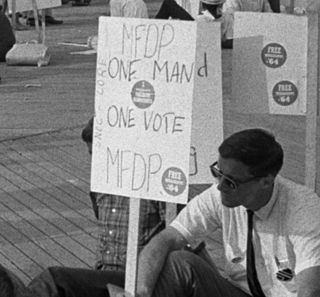 One man, one vote slogan used by advocates of political equality through various electoral reforms