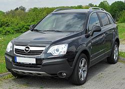 Pre-facelift Opel Antara (Germany)