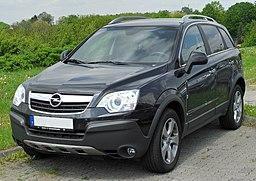 Opel Antara 2.0 CDTI front 20100516