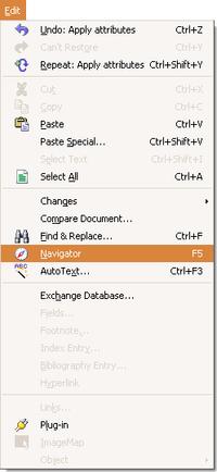 OpenOffice.org2.3 Edit menu (Navigator).png