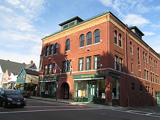 Camden Opera House Block theater and movie theater in Camden, Maine, United States