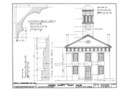 Orange County Courthouse, King and Churton Streets, Hillsborough, Orange County, NC HABS NC,68-HILBO,4- (sheet 6 of 20).png