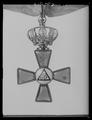 Ordenstecken för riddare av konung Carl XIIIs orden - Livrustkammaren - 2487.tif