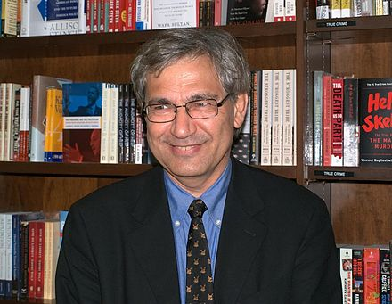 Orhan Pamuk, winner of the 2006 Nobel Prize in Literature Orhan Pamuk Shankbone 2009 NYC.jpg