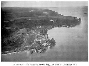 Oro Bay - Oro Bay Base in 1943.