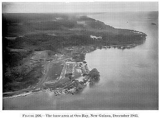Oro Bay - Oro Bay Base in 1943.