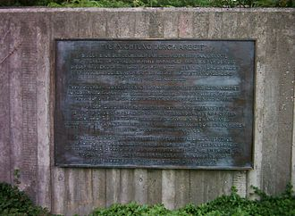 Extermination through labour - Commemorative plaque in Hamburg-Neugraben