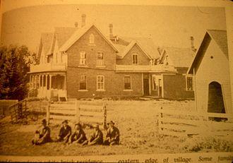 Nerstrand, Minnesota - The Osmund Osmundson House, c. 1890s.