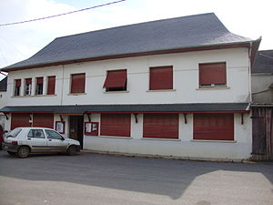 Ossas-Suhare - The town hall of Ossas-Suhare