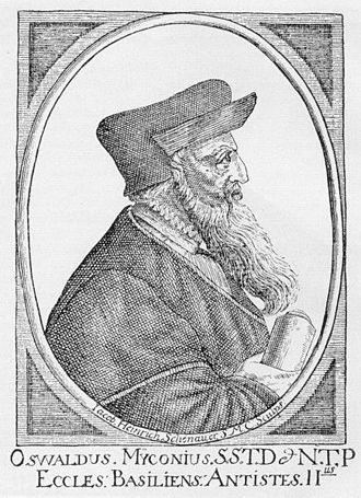 Oswald Myconius - Oswald Myconius.