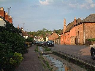 Otterton a village located in East Devon, United Kingdom