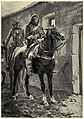 Outside the door, in the road, sitting on horse-back in silence, were two men (Under the red robe).jpg