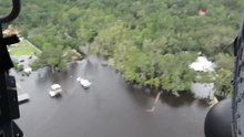 Archivo: Sobrevuelo de Jacksonville, Florida, después del huracán Irma.webm
