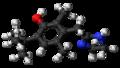 Oxymetazoline molecule ball.png