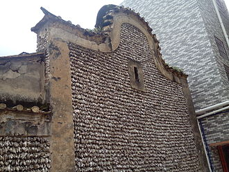 Lingnan architecture - An oyster shell house.