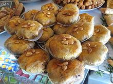 Pastilla, plat sucré ou salé fait de viande enrobée avec de la pâte, qui  est aussi considéré comme une pâtisserie