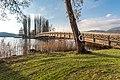 Pörtschach Promenadenbad Brücke zur Blumeninsel 05122019 7617.jpg