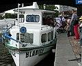 Přístaviště Jiráskovo náměstí, loď Blanice (01).jpg