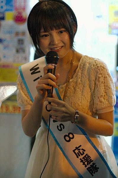 File:PC DIY SHOP FreeT 発売記念イベント 西明日香さん 2.jpg