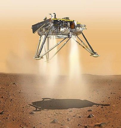 mars insight landing animation - photo #23
