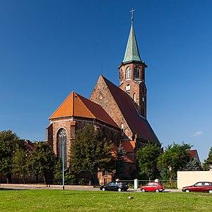 Ścinawa - St John's parish church