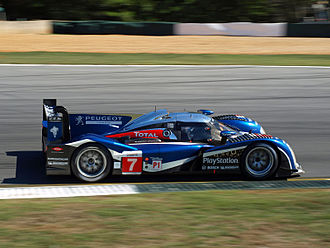 Anthony Davidson - Davidson at Road Atlanta for the 2011 Petit Le Mans race.