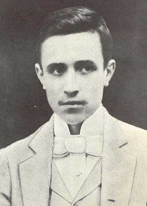 Early life of Pope Pius XII - Eugenio Pacelli in 1896