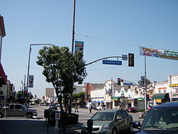 Pacific Boulevard and Clarendon Avenue, 2009