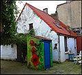 Painted Outhouse in an Urban Location - Remnants of Rurality - panoramio.jpg