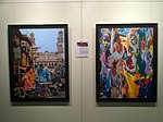 Paintings at Hyderabad airport 03.jpg