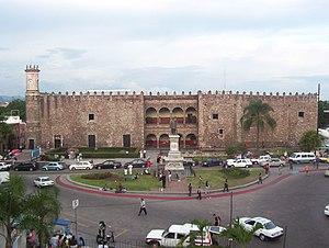 English: Cortés Palace in Cuernavaca, Mexico. ...