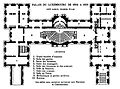 Palais du Luxembourg plan 1804–1836 - Hustin 1904 p20 - Google Books.jpg