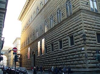 Palazzo Strozzi - Façade.