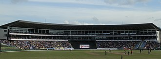 Pallekele International Cricket Stadium - Image: Pallekele International Cricket Stadium Main pavilion