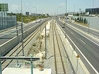 Pallini metro and suburban railway station.jpg