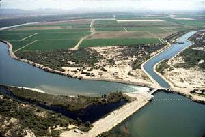 Palo Verde Dam - Image: Palo Verde Diversion Dam