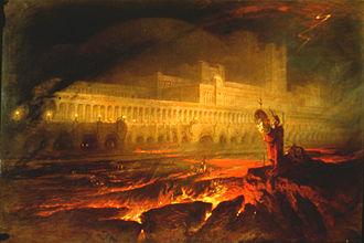 Pandæmonium (Paradise Lost) - John Martin, Pandemonium, 1841
