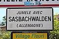 Panneau jumelage Sasbachwalden Villié Morgon 1.jpg
