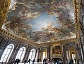 Panorama of the ceiling of Le salon d'Hercule (24275994646).jpg