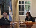 Paolo Rocca con Cristina Fernandez.jpg